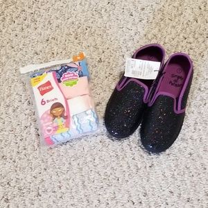 Other - Bundle Girls Shoes and Briefs